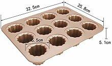 Lrbbq Backblech 12 Sogar Antihaft-Donut Cookie