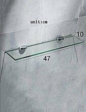 LRC Bad Glasregal Badezimmer Glasregale