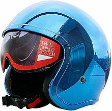 LRLZ Vier Jahreszeiten Motorrad Helm Dot