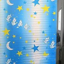 LRQY Privatsphäre Fensterfolie Bunt Kinderzimmer