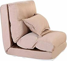 LRSFM Faules Sofa-Einzelsofa Faltbarer kreativer