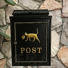 LRW Europäische Briefkasten-Wand Hung Letter Box,