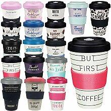LS-LebenStil Premium Coffee to Go Becher But First