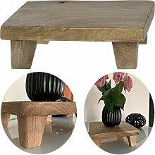 LS-LebenStil Teak Holz-Tischchen 20x20x7cm