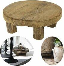 LS-LebenStil Teak Holz-Tischchen 20x7cm