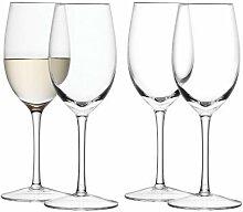 LSA International 260ml Wein-Glas, transparent (4Stück)
