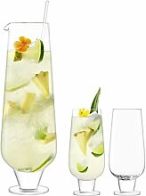 LSA International G1571-00-301 Rum Mixer Krug, Glas