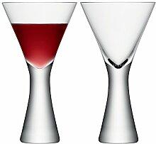 LSA Moya Weinglas / Weißweinglas, 395 ml, handgefertigt, 2 Stück