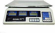 lscommerce® Elektronische Waage Profi-Werkbank Digital 40kg Dual Display NEW 5gr