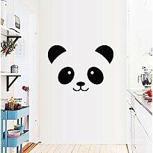 LSDAEER Wandtattoo Selbstklebend Modern Panda