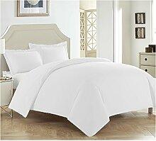 LSERVER Bettwäsche Set Einfache Bett Zubehör mit