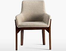 LSFF Liegestuhl Holz Esszimmerstuhl Einfache