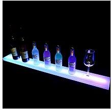 LSGMC 1 Tier Acryl Beleuchtetes Weinregal mit