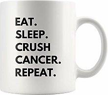 Lsjuee Eat Sleep Crush Cancer Wiederholen Empathie