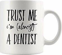 Lsjuee Future Dentist Gift Vertrauen Sie mir, ich