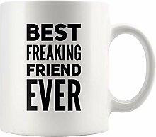 Lsjuee Geschenk für Freund B Freaking Freund