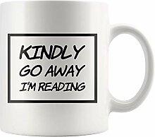 Lsjuee Geschenke für Leser Buchliebhaber Bitte