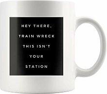 Lsjuee Hey There Train Wreck Dies ist nicht Ihre