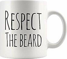 Lsjuee Men 's Kaffeetasse Respektieren Sie die