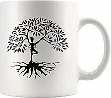 Lsjuee Womens Yoga Baum des Lebens Spirituelle