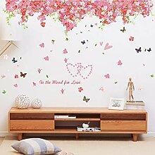 LSLJ Tapete Schlafzimmer Hochzeitszimmer Bett