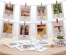 Lsmaa Photo Display String und Pegs - DIY