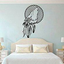 LSMYE Boho Style Dreamcatcher Wallpaper Wolfskopf