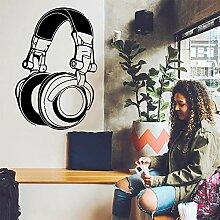 LSMYE DIY Kunst Headset Musik Vinyl Aufkleber Home