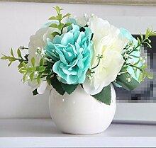 LSRHT Künstliche Blumen Blumen Dekoration Keramik