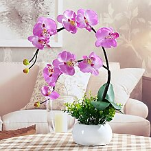 LSRHT Künstliche Blumen Hallenbad Orchideen
