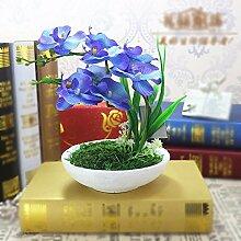LSRHT Künstliche Blumen Silk Blumen Orchideen