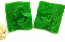 LSY Einhorn 3D Form Silikon Backform