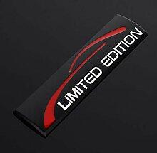 LSYBB 3D Metall Chrom Auto Aufkleber Limited