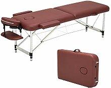 LSYOA Massagetisch Tragbar, 73inch Klappbar