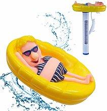 LT Schwimmbad Teichthermometer Schwimmt
