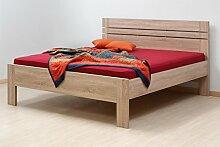 LTD Betten Nella komplett + Matratze + Lamellenrost, Holzbetten