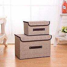 LTDD Aufbewahrungsbox Schubladen Klappbox