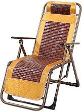 LTHDD Stühle, Balkon-Liege, Bambus-Matte,