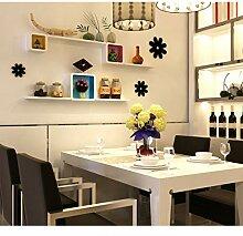 LTJTVFXQ-shelf Wand Regal Küche Esszimmer Wand