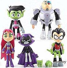 LTMM Cartoon Teen Titans Gehen Action-Figuren