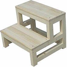 Ltong Step stool Haushalts-hölzerne