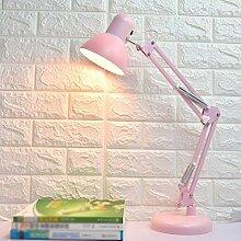 LTOOTA Schreibtischlampe Mädchen Mit Kipphebel,