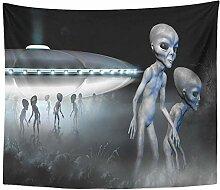 LTTGG UFO Fliegende Untertasse und Zwei graue