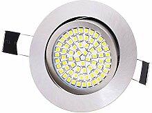 Lu-Mi LED Einbaustrahler flach 230V, Ultra Flach