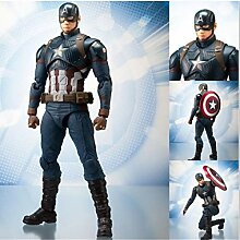 LU-Model Captain America 2 Action-Figuren PVC