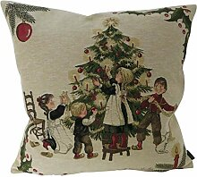 Lu-Tex Design Kissenhülle Weihnachten Nostalgie -