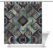 Luancrop Diagonale Wellen der dekorativen