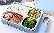 Luanda* Lunchbox - 4 Fächern Auslaufsicher Metall