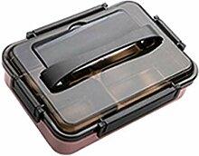 Luanda* Lunchbox - Fächern Auslaufsicher Metall