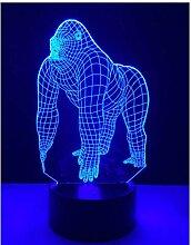 luanxiaonie Nachtlicht Der Optischen Täuschung